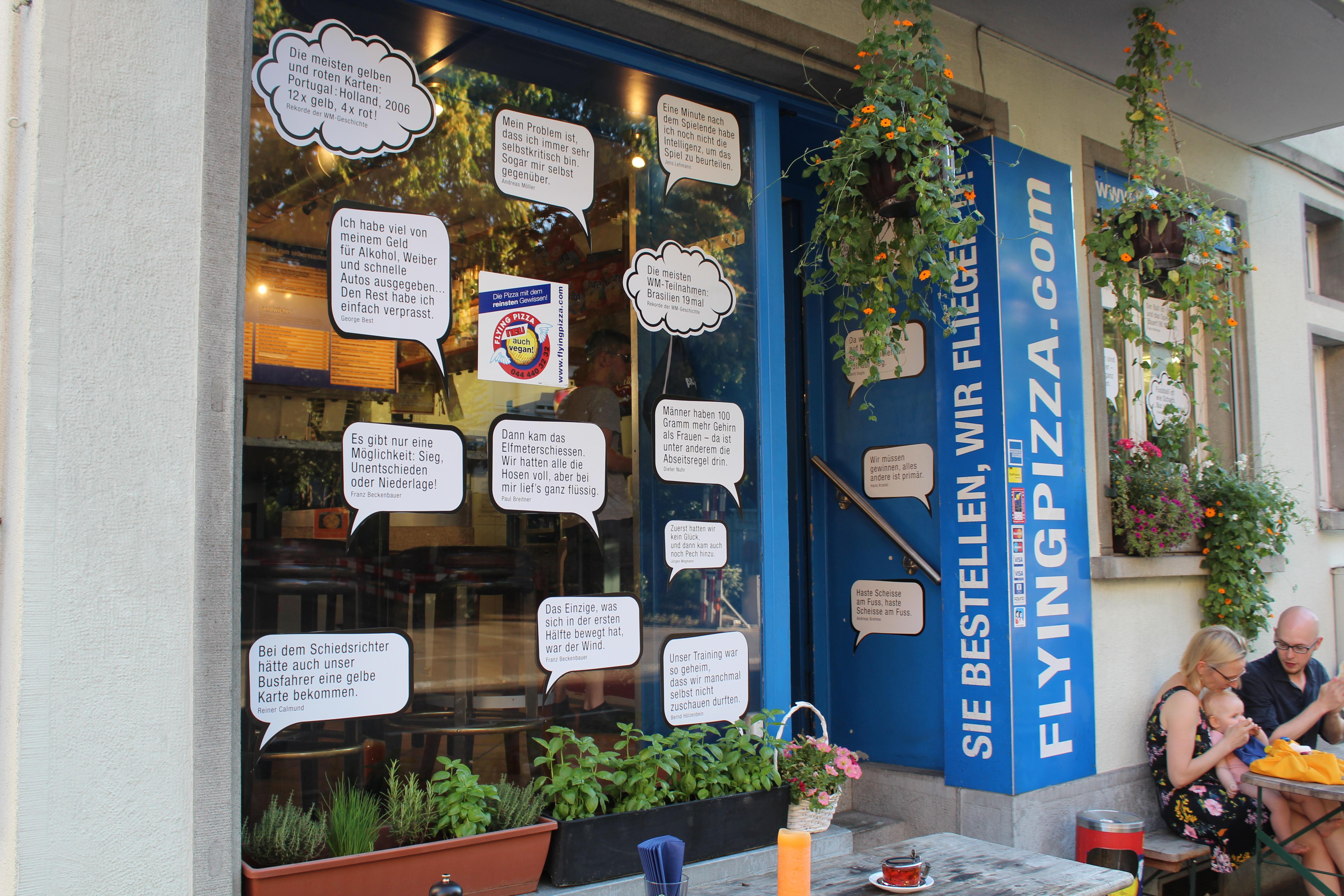 Flying Pizza Karte.Gallery Flying Pizza